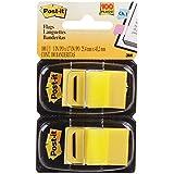 Tape Flags Amarelo 100 Folhas Com 2 Blocos 25X43