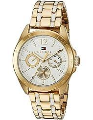 Tommy Hilfiger Womens Quartz Gold Casual Watch(Model: 1781665)