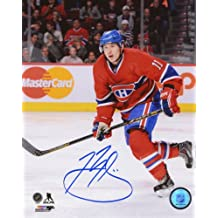 "Brendan Gallagher Montreal Canadiens Signed 8x10"" Photo"