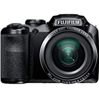 Fujifilm FinePix S4850 Black 16MP Digital Camera with 30x Optical Zoom and 3 LCD