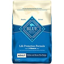 BLUE Life Protection Formula Adult Chicken and Brown Rice  Dry Dog Food 30-lb