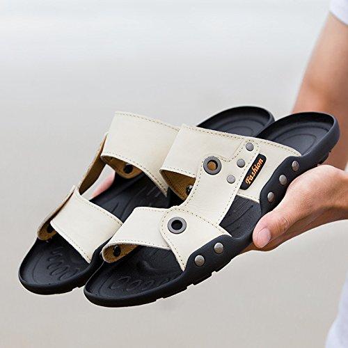 @Sandals Herren Hausschuhe, Neuen Sommer Style Casual Hausschuhe, Hausschuhe, Koreanisch Schuhe, Sandaletten, Badeschuhe.