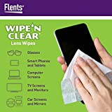 Flents Wipe 'N Clear Lens Cleaning Wipes