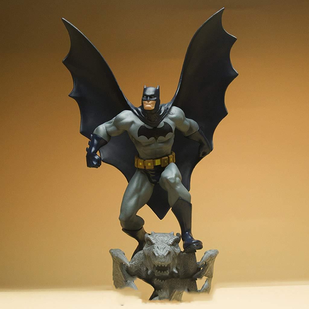 Llsdls Toy Model DC Universe Batman Batman Static Statue Model Gift Decoration Toys