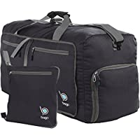 bago Travel Duffle Bag for Women & Men - Foldable Duffel Bags for Luggage Gym Sports