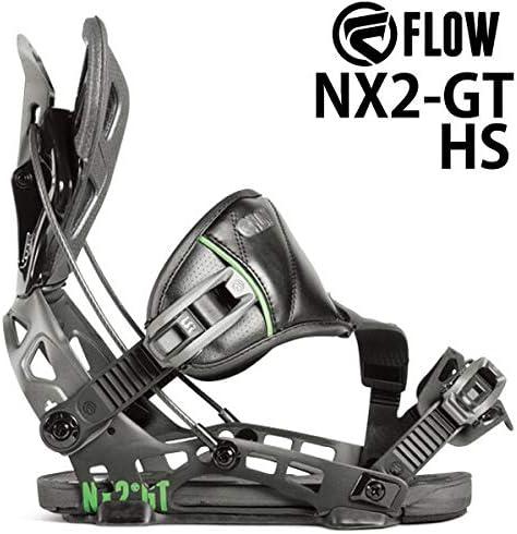 18-19 FLOW/フロー NX2-GT HS エヌエックス メンズ レディース ビンディング バインディング スノーボード 2019 L(25.5~29.5cm) 黒 黒 XL(28.0~32.5cm)