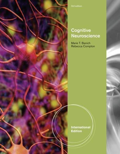 Cognitive neuroscience banich 3rd edition