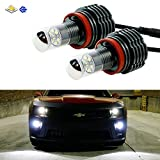 iJDMTOY Extremely Bright High Power CREE H11 (H8 H9) LED Lights For Fog Lamps or Driving Light Replacement Upgrade