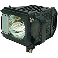 Aurabeam Economy Replacement Lamp with Housing for Mitsubishi 915P061010 TV Lamp.