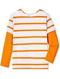 Boys Long Sleeve 2fer Striped Tee