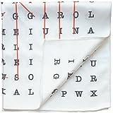 Declan 12.2 Inch Microfiber Pocket Square, Handkerchief, Cleaning Cloth (Ellis)