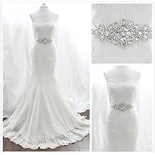 Trlyc Wedding Dress Belt Bridal Belt Sash Belt Pearls Belt Rhinestone Belt Crystal Belt Rhinestones And Pearls Sash Wedding Sash Dress Sash