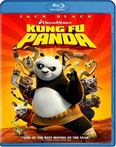Blu-ray : Kung Fu Panda (Subtitled, Dubbed, Dolby, AC-3, Widescreen)