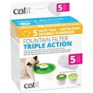 Catit 43746 Triple Action Triple Action Filter, One Size