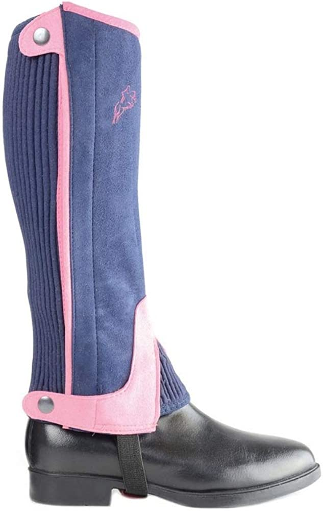 HyLAND Childrens//Kids Two Tone Amara Half Chaps