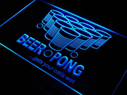 Balls Wet LED Sign Neon Light Sign Display j560-b(c) ()