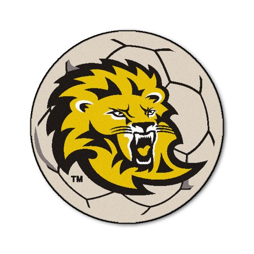 FANMATS NCAA Southeastern Louisiana Lions Nylon Face Soccer Ball Rug ()