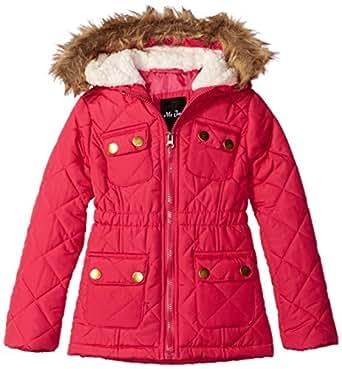 Amazon.com: MeJane Kids Little Girls Anorak Winter Coat