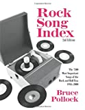 Rock Song Index, Bruce Pollock, 0415970733