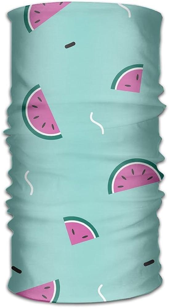 Headwear Headband Watermelon Pattern Head Scarf Wrap Sweatband Sport Headscarves For Men Women