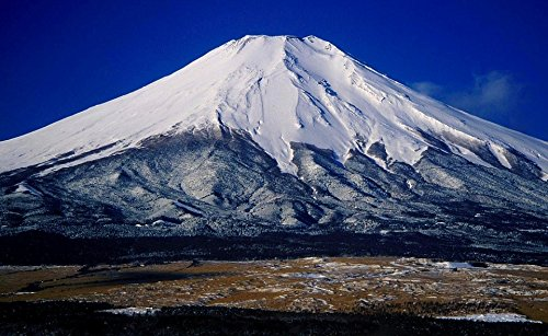 Home Comforts Laminated Poster Japan Nature Landscape Mount Fuji Mountains Poster Print 24 x 36