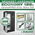 Growbox GrowPRO 2.0 XS - Grow Set für Indoor Homegrow - ESL Grow Set 125W Eco