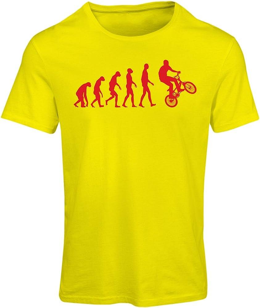 lepni.me Camiseta Mujer Evolución Humana y Bicicleta - Ciclismo ...