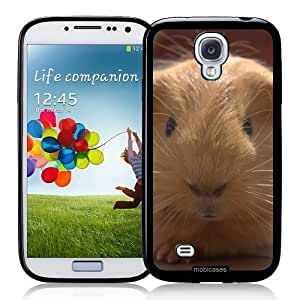 Cool Painting Cute Guinea Pig - Protective Designer BLACK Case - Fits Samsung Galaxy S4 i9500