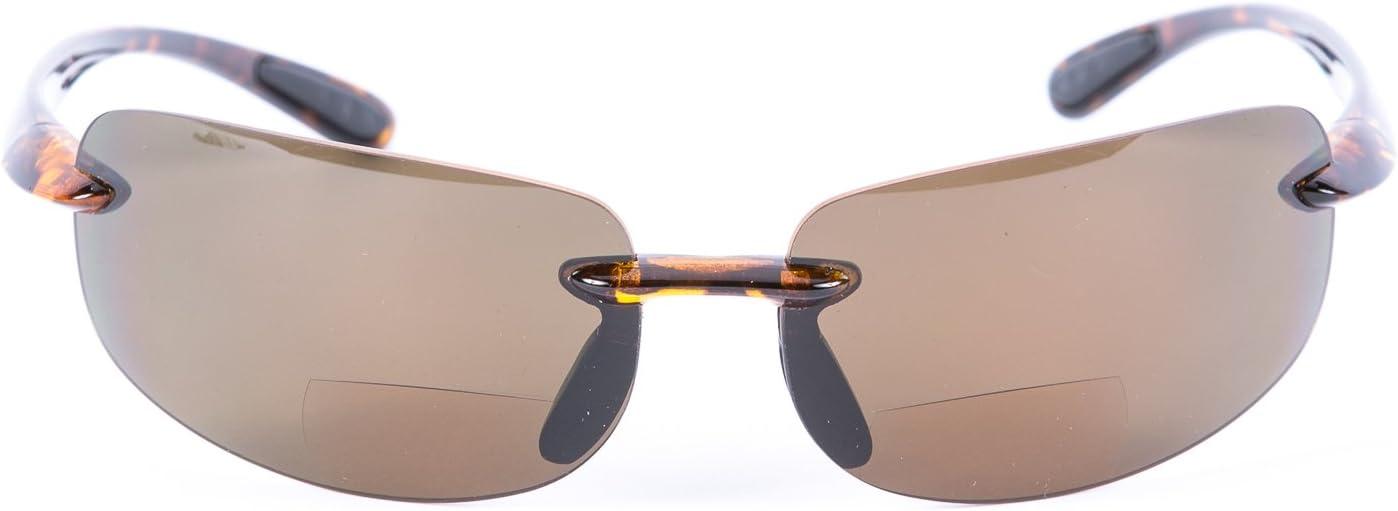 2/Paire de verres polarisants Lovin Maui Unisexe /à double foyer Lunettes de soleil monture TR90/l/éger Mass Vision monture TR90léger