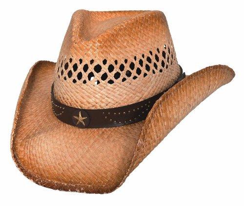 Bullhide Alanreed - Raffia Straw Cowboy Hat ()