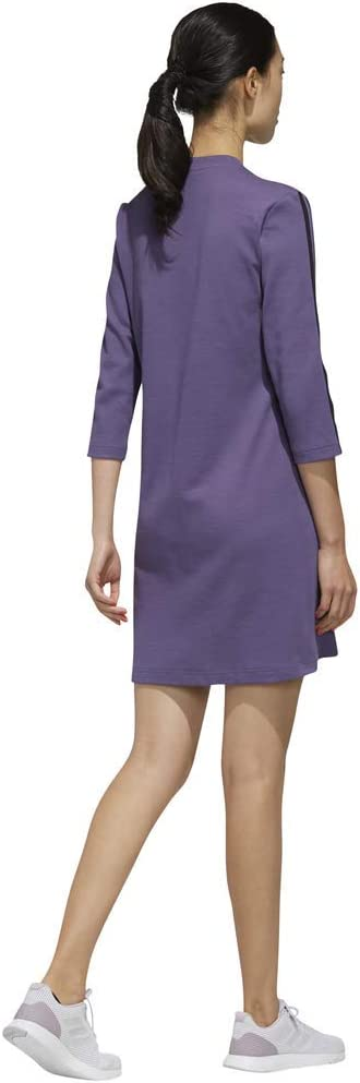 adidas Damen W AAA Dress Kleid Tech Purple/Black