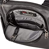 TUMI - Alpha 3 Small Pocket Crossbody Bag - Leather Satchel for Men and Women - Black
