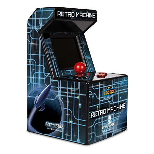 My Arcade Retro Arcade Machine Handheld Gaming System with 200 Built-in Video Games (Halloween Accessories)