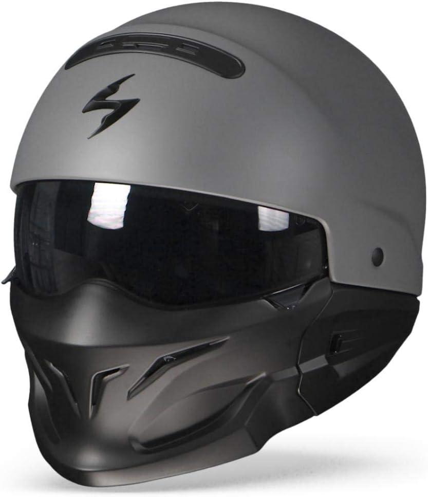 Scorpion 82-100-228-02 Motorradhelm Exo-Combat Matt cement grey XS