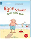 Egon Schwein spielt ganz allein