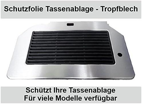 3 x Schutzfolie Siemens EQ6 Series s300 s500 Tassenablage Tropfblech s400