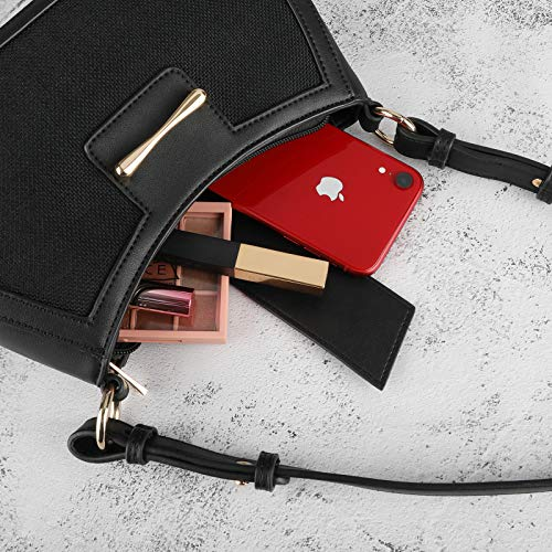 LSW Women's Shoulder Handbags Shoulder Bag for Women Classic Clutch Handbag Fashion Handbags Tote HandBag with Zipper Closure