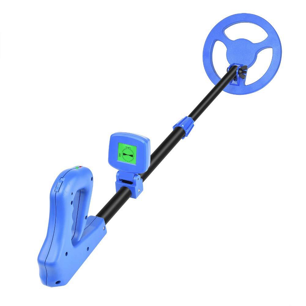TOPQSC Detector de Metales de Mano liviano para niños, 10-100 cm Profundidad de detección Sensibilidad Ajustable y Volumen Gold Digger, Indicación de Audio ...
