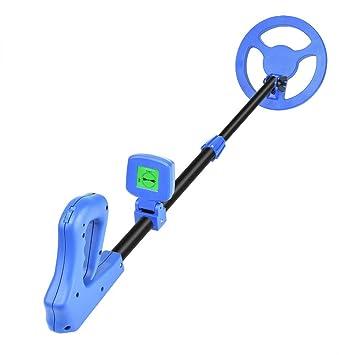 TOPQSC Detector de Metales de Mano liviano para niños, 10-100 cm Profundidad de