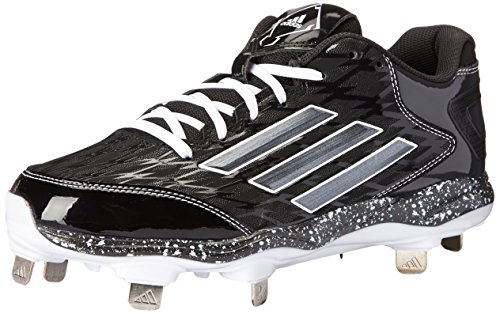 adidas Performance Women's PowerAlley 2 W Softball Cleat, Black/Carbon/White, 9.5 M US