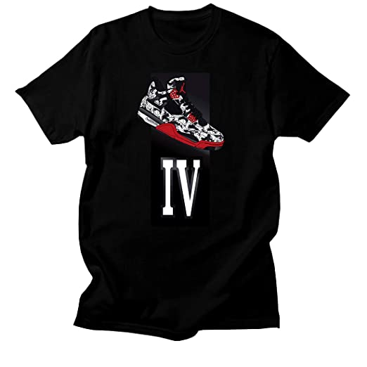 Custom T Shirt Matching Style Of Nike Air Jordan 4 Tattoo Jd 4 8 8