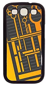 Alien Circuitry Polycarbonate Hard Case Cover for Samsung Galaxy S3 I9300 ¡§CBlack