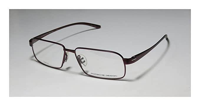 336e5287ec4 Porsche Design Rx Eyeglasses Frames P8158 B 57x14 Dark Red Titanium Japan