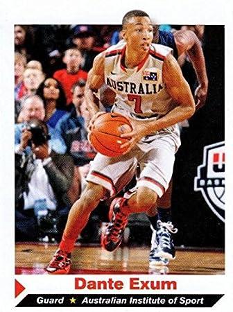 Dante Exum Basketball Card Australia Sports Illustrated