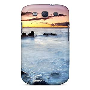 Asbarn IGvJhZW6478KsQFM Case Cover Skin For Galaxy S3 (hazy Early Morning Sea)