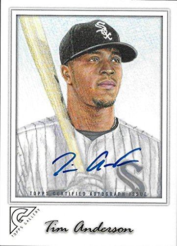 2017 Topps Gallery Autographs #36 Tim Anderson NM-MT Auto White Sox