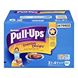 Health & Personal Care : Huggies Pull-Ups Learning Designs Training Pants for Boys, Giga Pack, Size 3T-4T, 62 Count