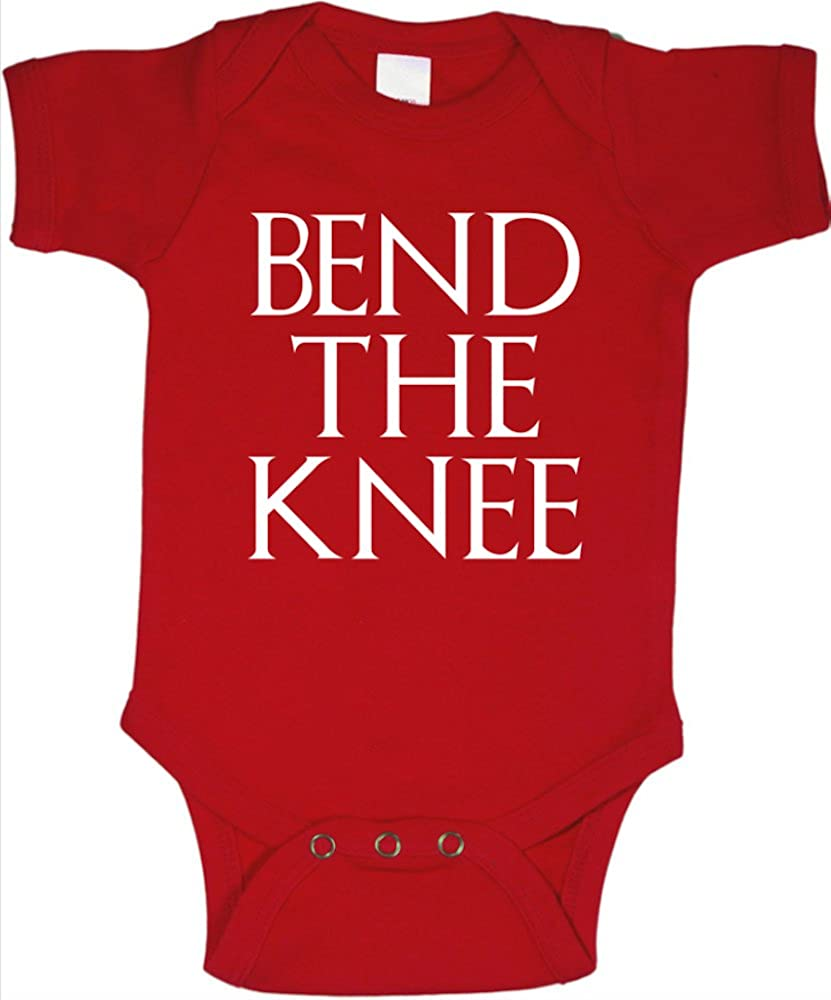 Game Thrones Bend The Knee Baby One-Piece/Bodysuit