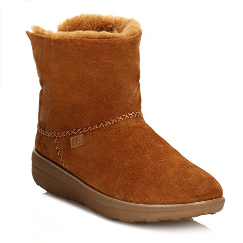 Fitflop Mukluk Shorty 2 Boots - Botines Mujer Brown (Chestnut)