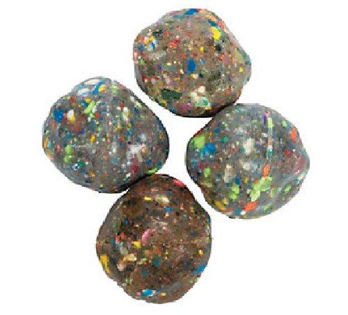 Fun Express Rubber Rock Bouncing Balls - 12 Pieces
